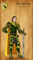 Renly Baratheon by serclegane