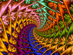 A Colorful Spiral by fraxialmadness3