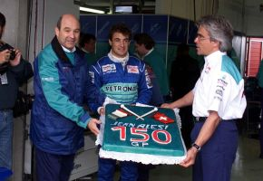 Jean Alesi (Luxembourg 1998) by F1-history
