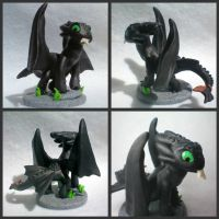 Toothless Figure Details by stevoluvmunchkin