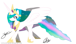 MLP: Princess Celestia by Otakon7