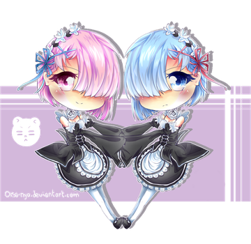 Ram and Rem ! ~ by Oksa-Nya
