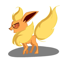 Flareon by Green-Patch