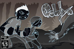 Goblyn Issue 5.5 inverted cov. by SolomonMars