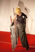 Cloud Strife by Ginger-Jude