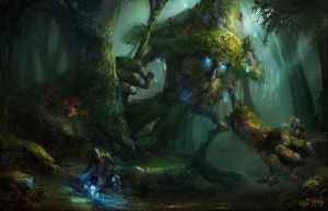Forest Guardian by Showmeyourmoves