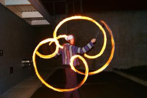The art of fire dancing by Dj-DigiCat