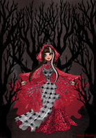 Enchanted New Chapter Cerise Hood by The-Doll-In-Chains