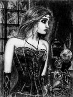 Gothic girl by RutePascoal