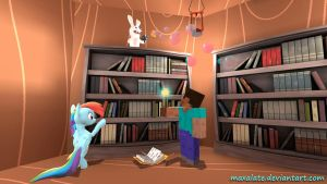 Library. by maxalate