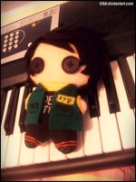 Le Fun Ghoul plushie by Ezkai