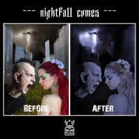 nightfall comes_before-after by the-art-of-matth