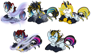 TwistedHeartxStormyDawn Foals by KingRefi