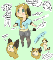 Moo Cow Persona by SometimesCats