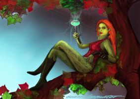 A Toast by Poison IVY! by BramLeegwater