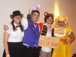 ( FNAF ) Group Cosplay at Hurricon 2015 by KrazyKari