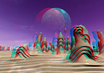 Living Stones Anaglyph 3D by Osipenkov