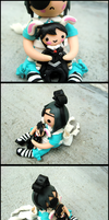 Ciel in Wonderland 3-D Figure Views by GrandmaThunderpants