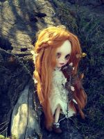 Autumn girl by narare