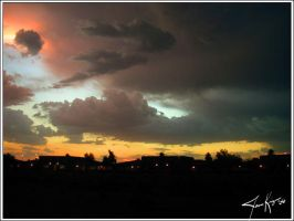 Storm Sunset - 01 by kriegs