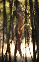 A Walk in the Woods, Nude by GingerNation952