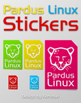 Pardus Stickers by h2okerim
