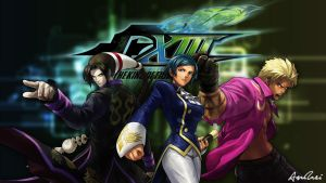 KOF XIII: Elisabeth Team by AioriAndrei