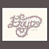 Typography of Name in my Style by nuryantieryzart