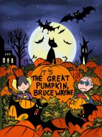 It's the Great Pumpkin, Bruce Wayne by Theamat