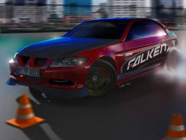 Drifting BMW 3 series by yamell