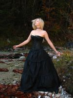 Black Dress 7 by Kuoma-stock