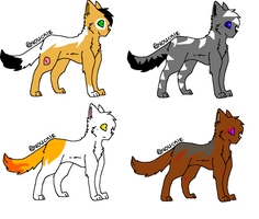 Cat adoptables CLOSED by MoBAdopts