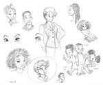 African American Sketch Page by chill13