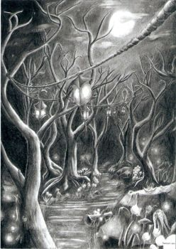 Forest by Sarumian
