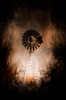 Windmill at Deadmans Creek by Questavia