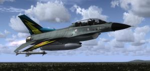 F-16 Skydive 1 by agnott