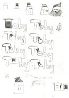 Toby Logos + More Toby by DeverexDrawer