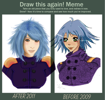 MEME: Draw this again by doodee123