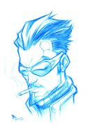 Sketchbook _ Deus Ex by thekidKaos