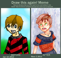 Improvement meme by TheUnknownlover