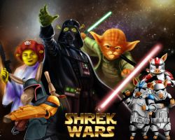 shrek wars by ramtraz