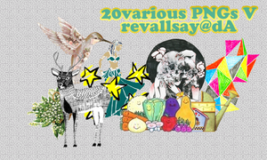 20 various pngs V by revallsay