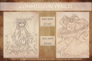COMMISSION PENCIL 2015 by Phadme