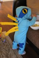 Baby Murloc Costume by Linfae