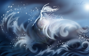 Dancing on the Water by Hevimell