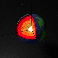 Earth sliced up by twitte0king