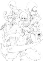 BLEACH - The Old Times by elawra