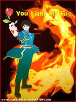 FMA: Roy Mustang Light My Fire by destructo-