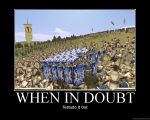 When In Doubt by Haterius
