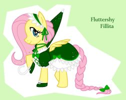 MLP: Fluttershy Fillita by YouAskMeFirst2
